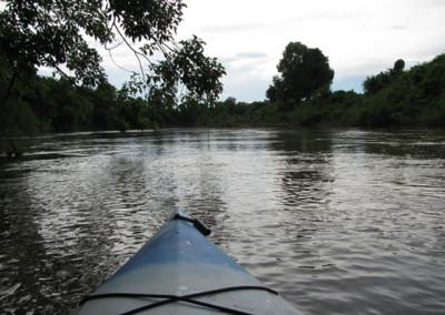 Kayaking Mekong Kratie